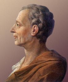 Montesquieu en 1728 (peinture anonyme).