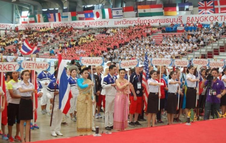 Cérémonie d'ouverture des championnats du monde de pétanque – Crédit photo  Claude Azema