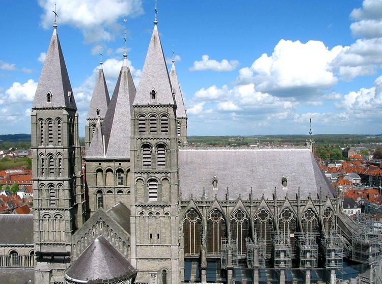 Cathédrale Notre-Dame de Tournai (Belgique) © Jean-Pol GRANDMONT