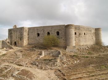 Château de Clermont-Chlémoutsi - Grèce © Demetrios Athanasoulis
