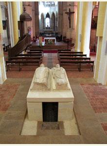 gisants des saints abbés de Cluny, Mayeul et Odilon