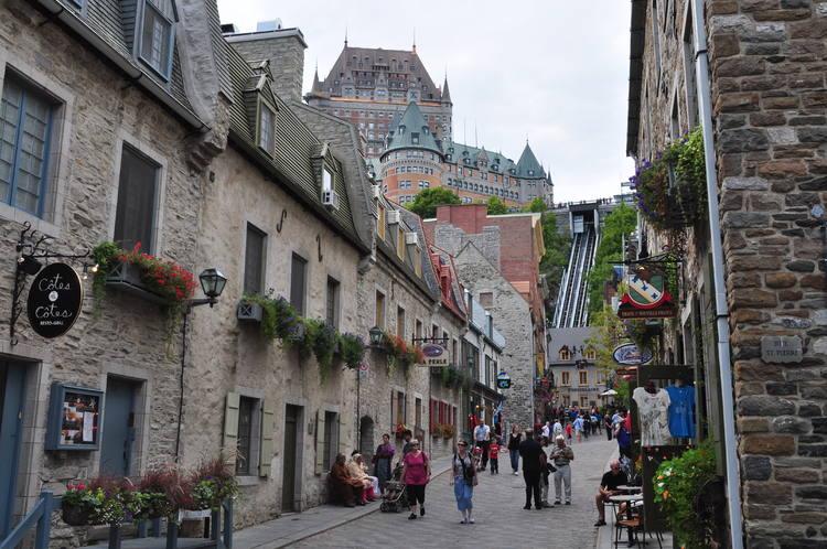 Historic District of Old Québec (Canada) © Silvan Rehfeld
