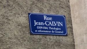 Rue Jean Calvin, Genève