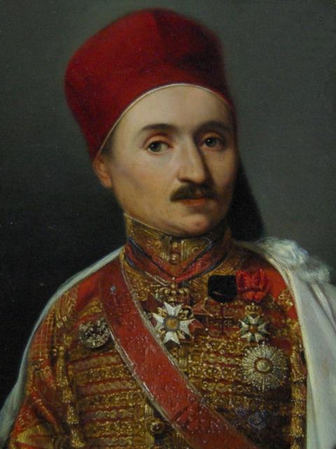 Sabix54-Jomard, Clot Bey et la....portrait de Clot Bey