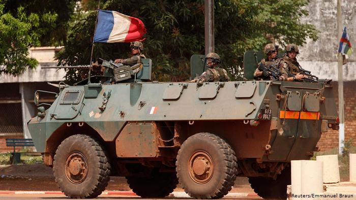 La France gendarme de l'Afrique