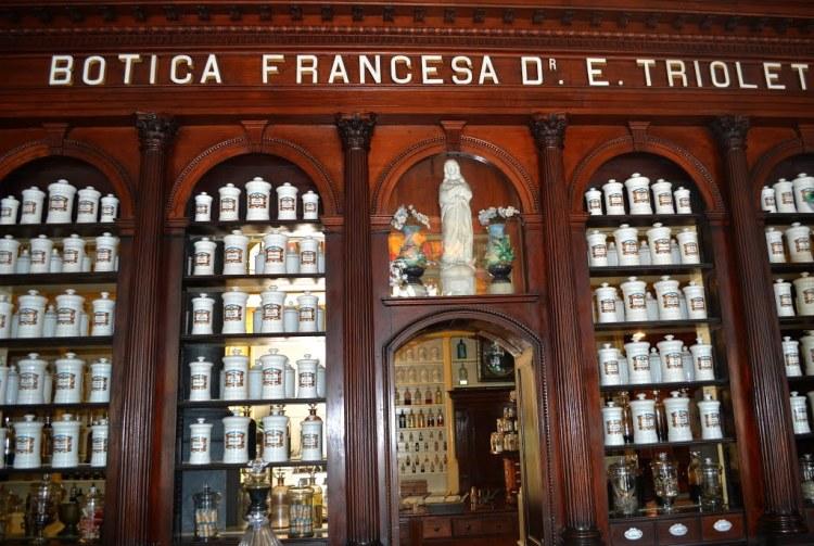 La Pharmacie Française de Matanzas, unique au monde