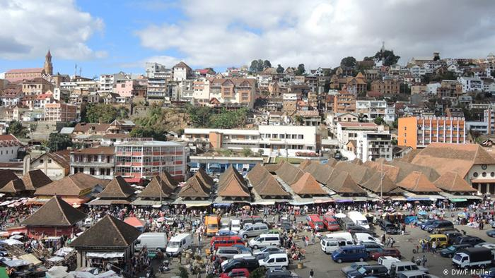 Lutte franco-américaine à Madagascar