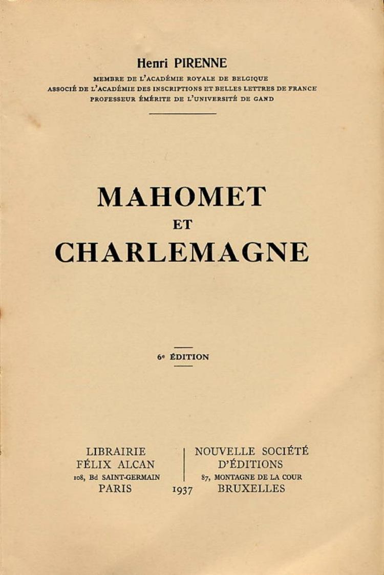 Mahomet et Charlemagne (Henri Pirenne, 1937)