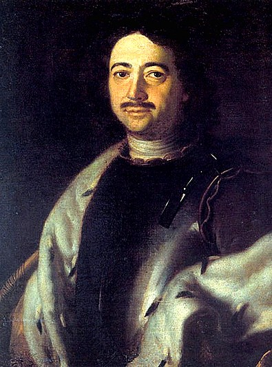 Portrait of Peter the Great by Louis Caravaque