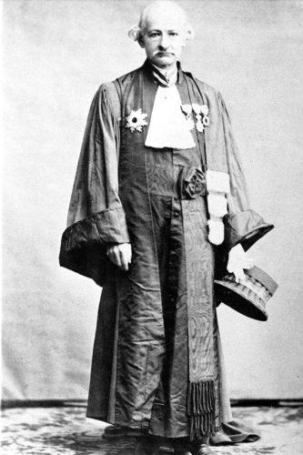 Gustave-Emile Boissonade de Fontarabie a joué un rôle déterminant dans la création du Code civil au Japon. Son influence a été considérable et il bénéficie encore d'une grande estime dans l'archipel. ©DR