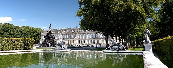 herrenchiemsee New Palace