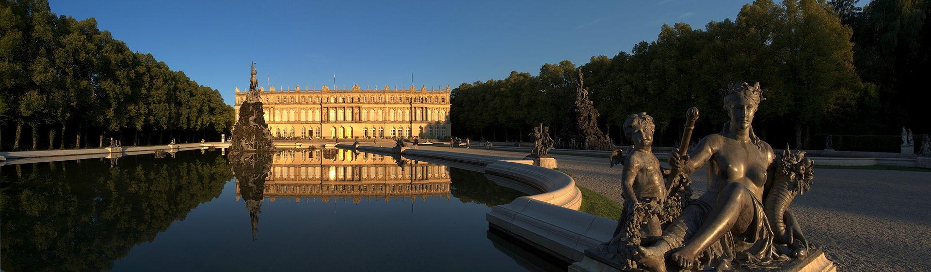 Versailles en Bavière, Château de Herrenchiemsee