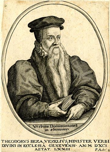 Théodore de Bèze © S.H.P.F