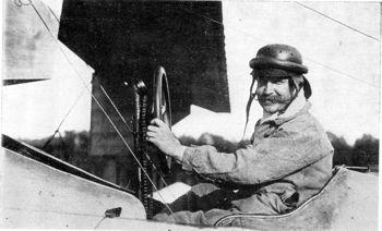 Léon Bathiat, brevet d'aviateur n°110 décerné par l'AéCF