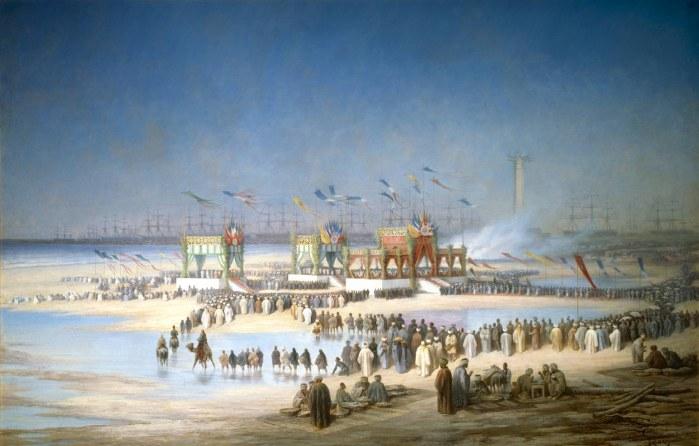 L'inauguration du canal de Suez