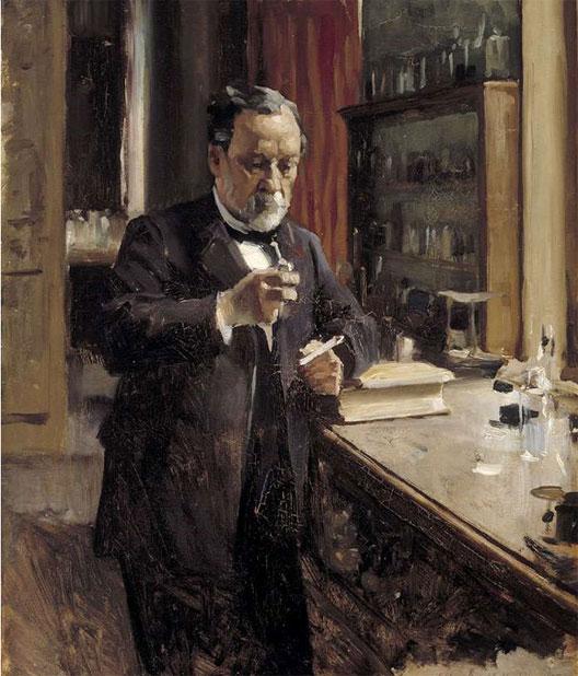 Louis Pasteur, par Albert Edelfelt (1877)