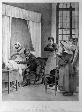 René Théophile Hyacinthe Laennec (1781-1826)