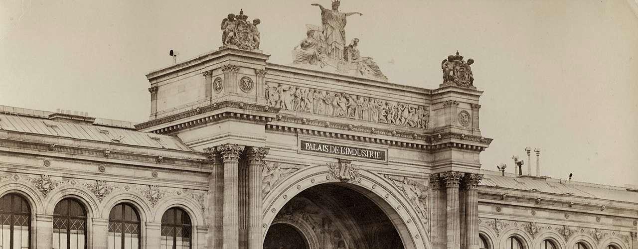 Palais de l'industrie, exposition universelle, Paris 1855