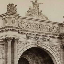 Palais de l'industrie, exposition universelle, Paris 1855