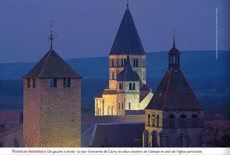 L'âge d'or des abbayes - l'histoire n° 67. Tour d'enceinte de Cluny