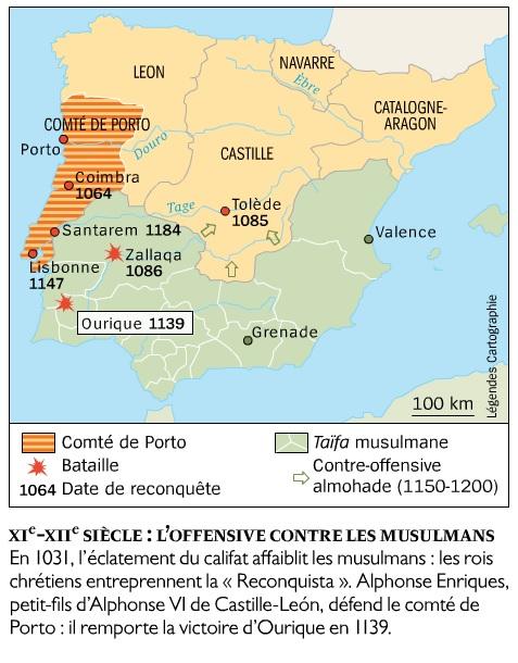 Le Portugal, l'empire oublié - l'histoire collections n°63. Naissance du Portugal