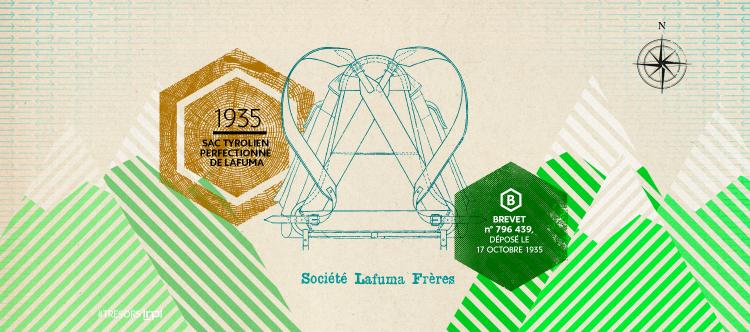 Le sac à dos moderne Lafuma (1935)