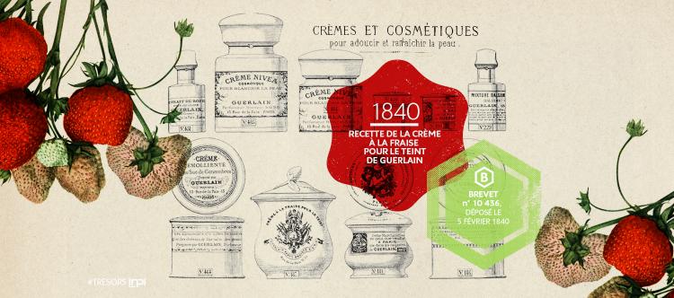 Les recettes de Guerlain en note de tête (1834)
