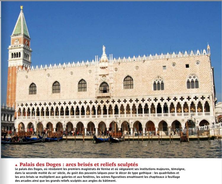 Moyen Age, la révolution gothique - l'histoire n°419. Palais des Doges