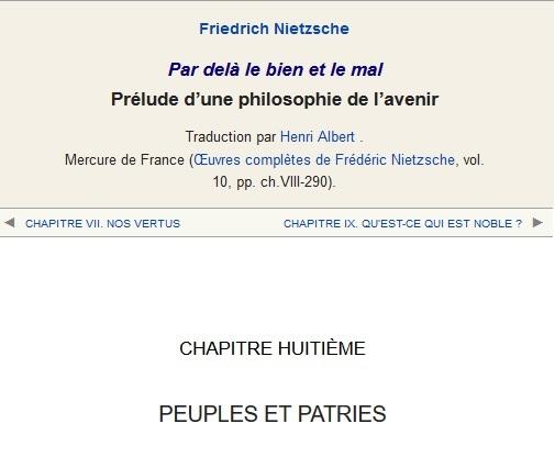 Par delà le bien et le mal (Nietzsche 1886)