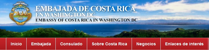 Embajada de Costa Rrica en Washington DC