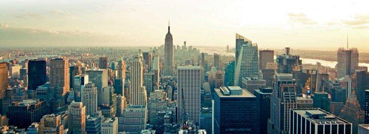 La skyline de New York était légendaire, ses cartes des vins sont en train de le devenir