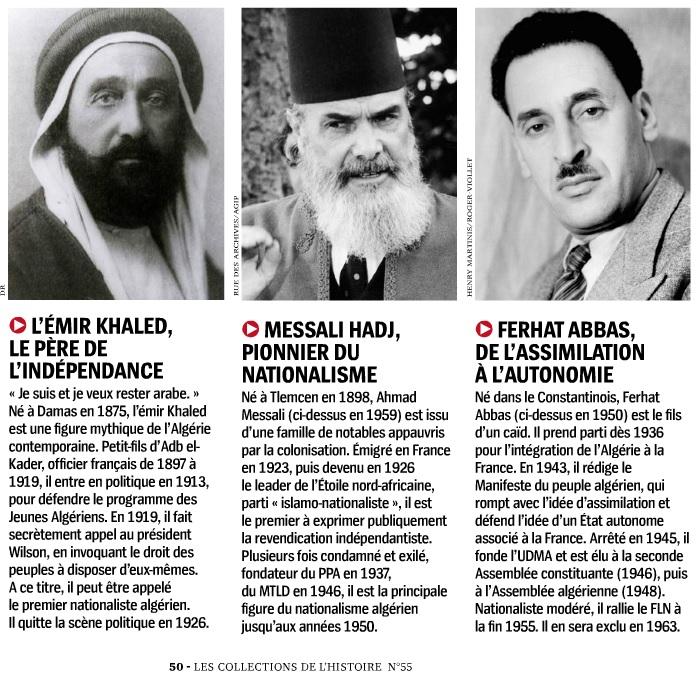 L'Algérie et les Algériens - HSH55. Leaders