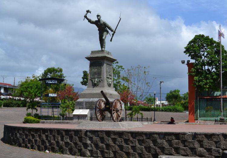 Monumento a Juan Santamaria, Alajuela, Costa Rica
