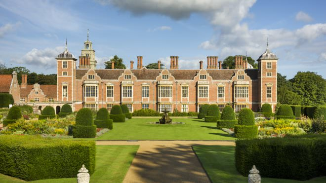 Blickling's garden has evolved over the centuries to reflect different fashions