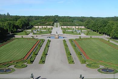 Le Château de Drottningholm (Le Parc du château)