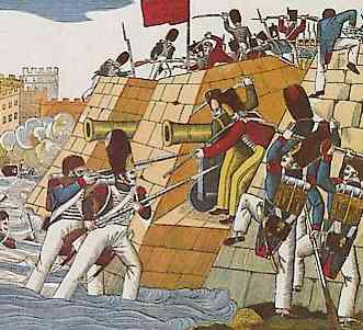 L'expédition d'Espagne, prise du Trocadero