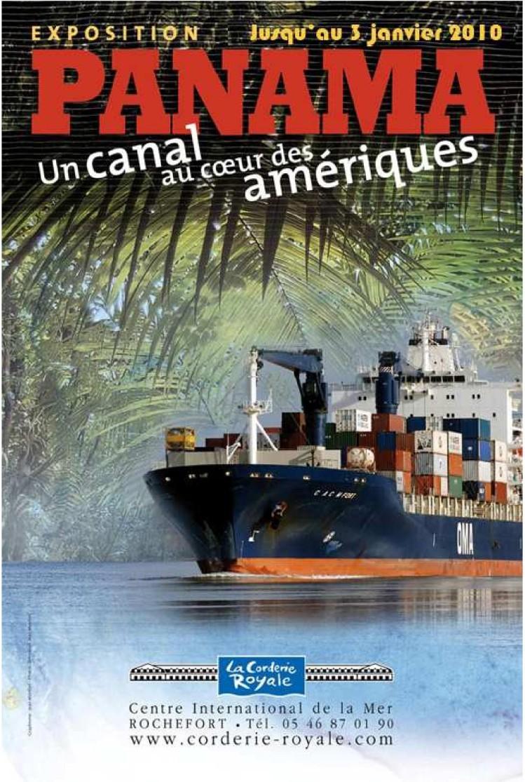 PANAMA UN CANAL AU CŒUR DES AMERIQUES - expo 2009