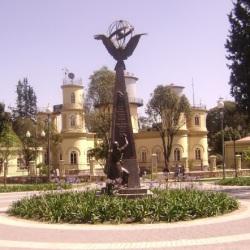 Equateur, Quito, parque La Alemada, Monumento a las Misiones Geodésicas francesas