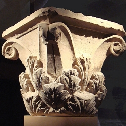 Chapiteau Corinthien provenant du site Ai-Khanoum