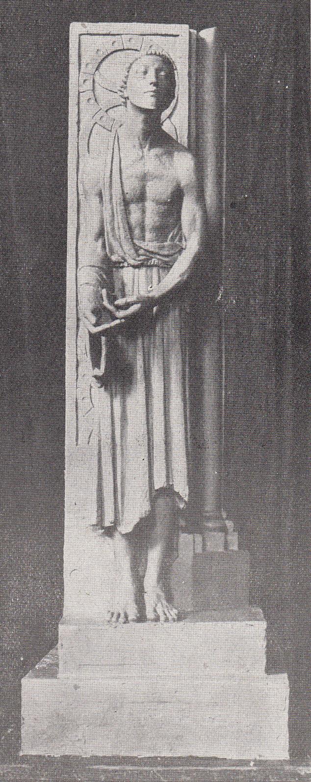 Monument Simomn Bolivar-Épreuve finale de Jacques ZWOBADA (Bas-relief en plâtre) pour le Concours de Rome de 1928.
