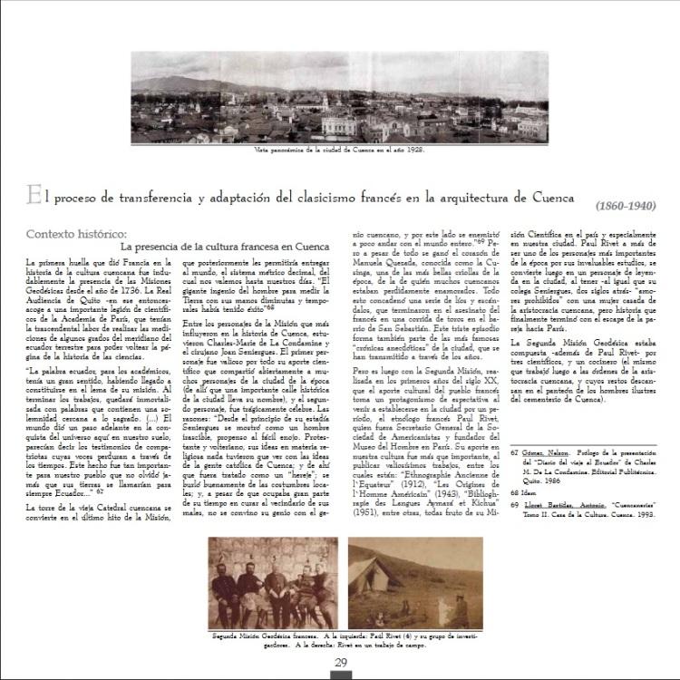 presencia de la arquitectura neoclasica francesa en cuenca una huella indeleble 1860-1940 (p.29)