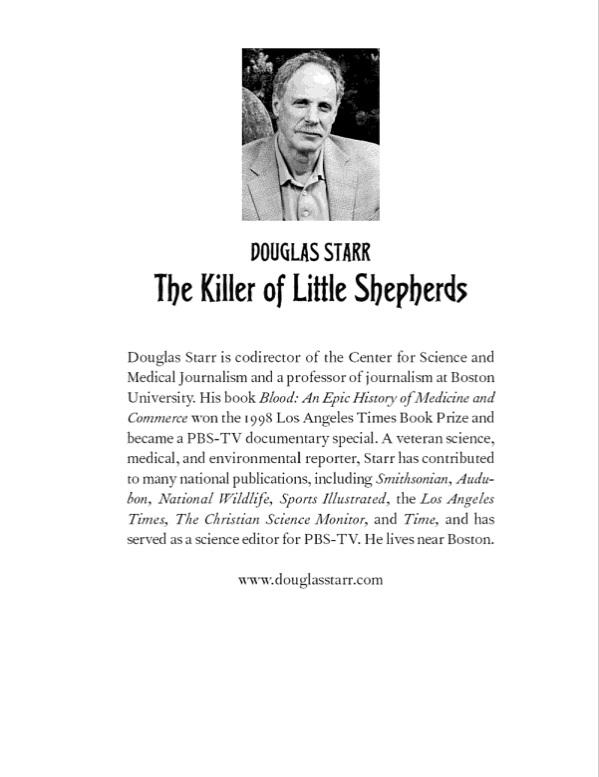 The Killer of Little Shepherds, Douglas Shepherds