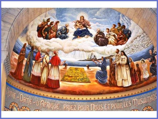 Algérie, Alger, Basilique Notre Dame d'Afrique-priez pour nous et pour les musulmans