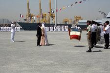 Inauguration de l'implantation militaire française aux Emirats arabes unis