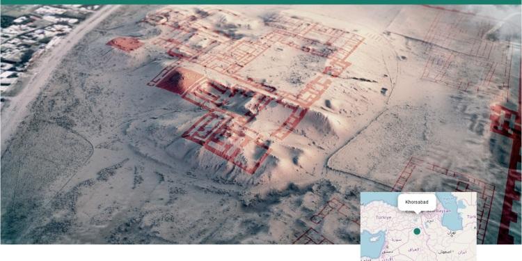 Khorsabad, Irak, archeologie.culture.fr