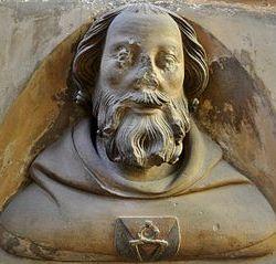 Mathieu d'Arras à la cathédrale Saint-Guy, Prague
