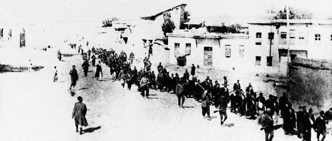 Quand la marine nationale volait au secours des Arméniens-Turquie, 1915. © AP