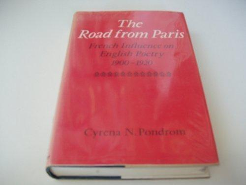 The Road from Paris-French Influence on English Poetry 1900–1920-v2