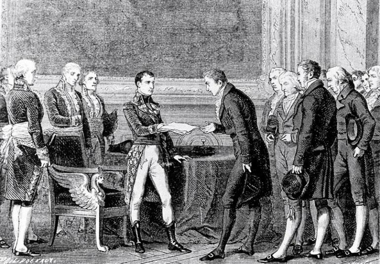 19 février 1803 Les Suisses adoptent l'«Acte de médiation»