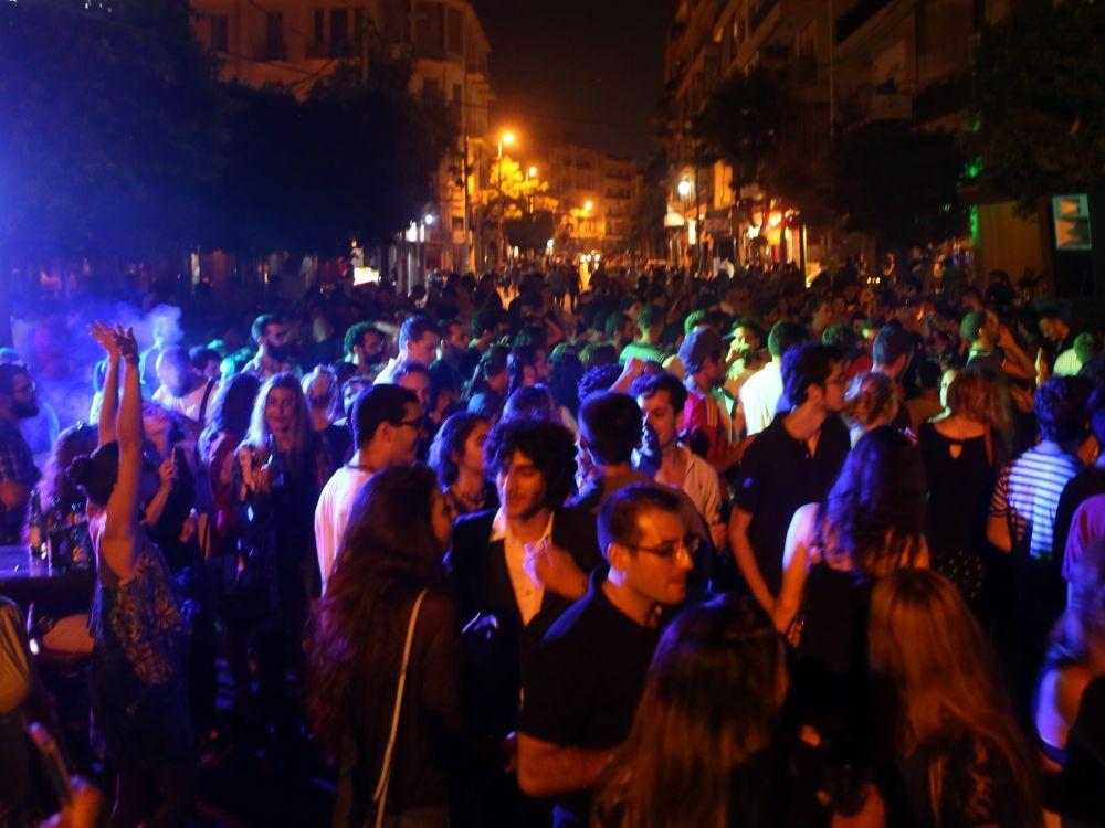 Fête de la musique à Beyrouth au Liban, le 21 juin 2016. PATRICK BAZ AFP